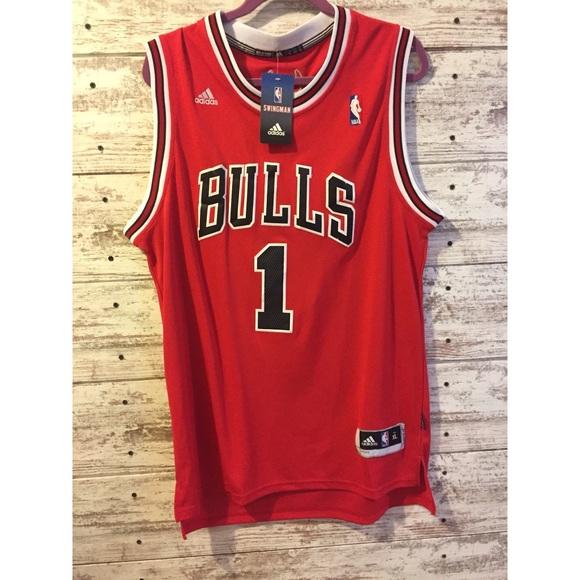 100% authentic 25d82 173d3 Authentic Derrick Rose Chicago Bulls Jersey NBA NWT